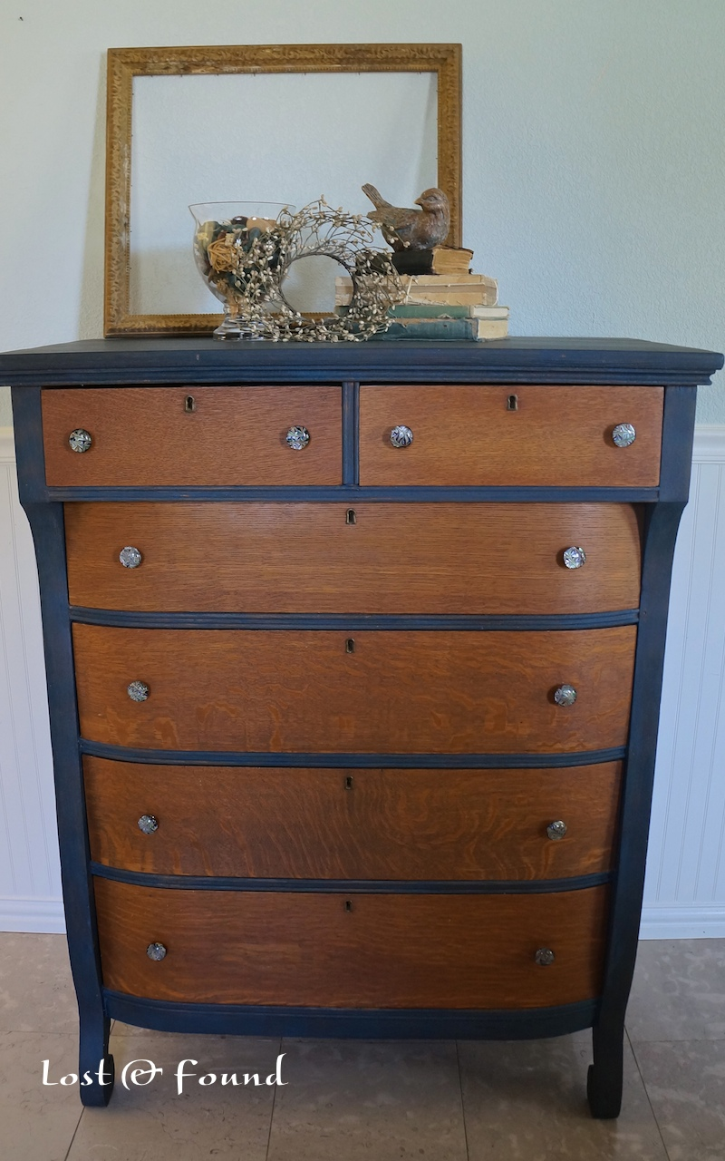 Two Tone Chest Of Drawers Lose The Ordinary Find The